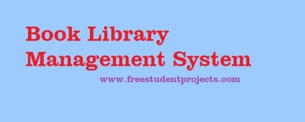 book library management system