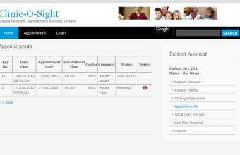 Online Clinic Appointment System