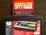 Grizzly Ultimate Man Cave Winner a 40 Ratchet & Socket Set