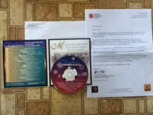 Christmas in Brass DVD from Radio Ministries The Salvation Army