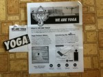 Free We Are Yoga sticker