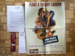 Plant A Victory Garden Our Food Is Fighting Poster from WWII The National WWII Museum & Classroomvictorygarden.org