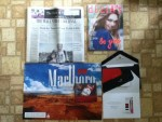 The Wall Street Journal - dELiAs August catalog  - Marlboro coupons  - Free coupon for a refill of MarkTen e-vapor