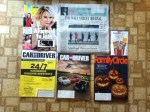 US Weekly - The Wall Street Journal - Highlights magazine offer - Car and Driver October magazine - FamilyCircle October magazine