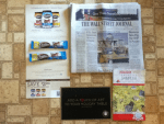 Free Ovaltine Stick packs and coupon - The Wall Street Journal - Rebate form from KRIS Wine - American Quilter's Society Holiday  2014 catalog sampler