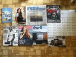 Today's mail - Weber Scientific Frequent Buyers Program catalog - Essence November magazine - The Wall Street Journal - Auto-week magazine