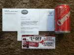 Winner in the Cheerwine Legendary Giveback 2014 Instant Win Game & Sweepstakes - Won a $1.50 off any Cheerwine package