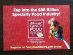 Fancy Food Show - New York City June 28-30-2015 Postcard from the Speciality Food Association