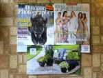 Outdoor Photographer April magazine - TVyNovelas April magazine - PW Proven Winners The Gardener's Idea Book