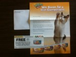 Coupon for a Free 5.5oz can of Friskies Tasty Treasures Accented With Real Bacon