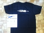 The CLYMB Black Logo T-shirt & a $100 Wine Voucher of $160 or more Delivery included