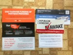 Awake Sticker from Independent Voter Project