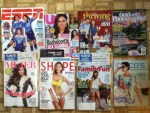 ESPN Weekly - US Weekly - Thriving Family June-July magazine - Outdoor Photographer June magazine