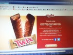 Instant winner in the TWIX Brand Pick a Side Game & Sweepstakes - Won a Single Pack of TWIX Cookie Bars