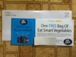 Coupon for One Free bag of Eat Smart Vegetables for feedback