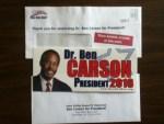 Dr. Ben Carson President 2016 Bumper Sticker