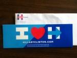 Hillary for America Sticker