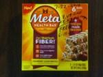 Meta Health Cranberry Lemon Drizzle Bars 6 count at CVS after bucks back