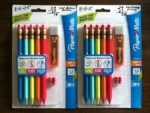 Paper Mate mechanical pencils - Price matched Walgreens $ .29 each at Walmart minus $ .75 - Three cents for both