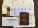 The Declaration of Independence and the Constitution of the United States of America book and Newsletter from CATO Institution