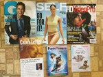 Gentlemen's Quarterly October magazine - SELF October magazine  - HD Video Pro October magazine - Cato's Newsletter - Puppy Powers Scholastic Book from Kellogg's Free Book Program