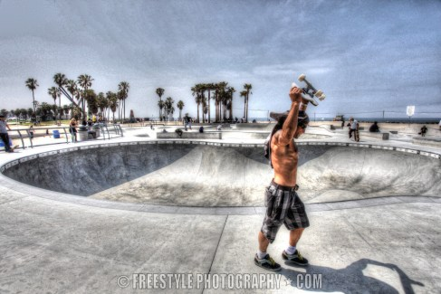 Venice Beach Skateboard © Andre Ringuette/Freestyle Photography