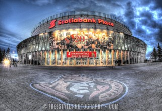 OTTAWA, CANADA - OCTOBER 18: A general view of the front of Scotiabank Place before a game between the Ottawa Senators and the Philadelphia Flyers on October 18, 2011 in Ottawa, Ontario, Canada. (Photo by Andre Ringuette/NHLI via Getty Images)
