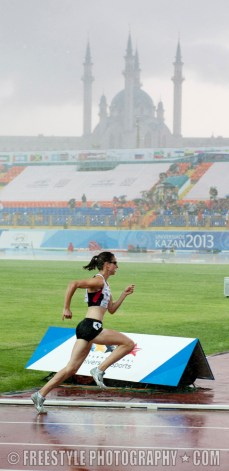 KAZAN, RUSSIA - 13-07-08: Athletics. Summer Universiade 2013, Kazan, Russia (PHOTO: Matt Zambonin/Freestyle Photography)