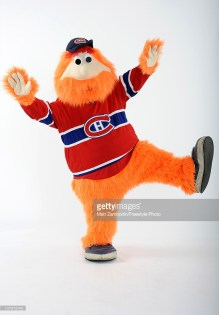 OTTAWA, ON - JANUARY 26: Youppi, the mascot of the Montreal Candiens, poses for a portrait during 2012 NHL All-Star Weekend at Ottawa Convention Centre on January 26, 2012 in Ottawa, Canada. (Photo by Matt Zambonin/Freestyle Photo/Getty Images)