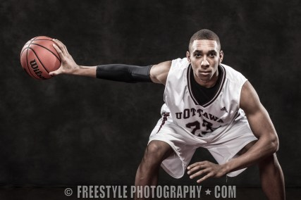 Gee-Gees Studio Photoshoot 2012 Men's Basketball (PHOTO: Andre Ringuette/Freestyle Photography)