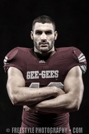 Gee-Gees Studio Photoshoot 2012 Football (PHOTO: Andre Ringuette/Freestyle Photography)