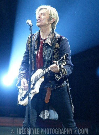David Bowie, Reality Tour Corel Centre, Ottawa, ON, Canada April 2, 2004 ©Phillip MacCallum/Freestyle Photography