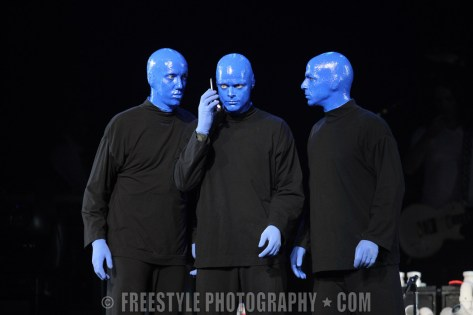 Blue Man Group - Scotiabank Place Sep 21, 2008 (PHOTO: Andre Ringuette/Freestyle Photography)