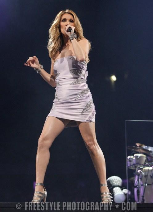 Celine Dion - Scotiabank Place Nov. 07, 2008 (PHOTO: Jana Chytilova/Freestyle Photography)