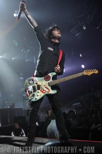 Green Day Concert Jul 17, 2009 (PHOTO: Jana Chytilova/Freestyle Photography)