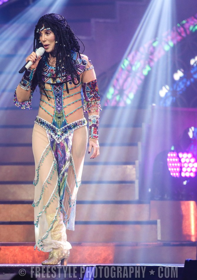 Cher - Canadian Tire Centre April, 26, 2014 PHOTO: Andre Ringuette/Freestyle Photography