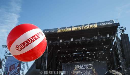 Sweden Rock 2018 for Bauhaus PHOTO: Andre Ringuette/Freestyle Photography
