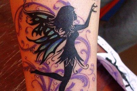 girly fairy tattoo