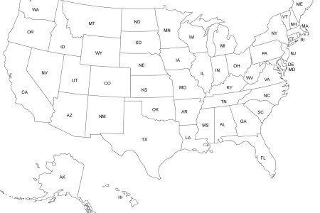 us and caa printable, blank maps, royalty free clip
