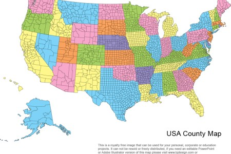 us county map images & pictures becuo