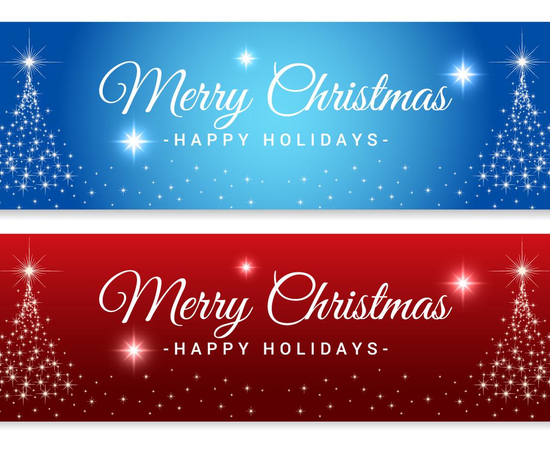 Fullsize Of Merry Christmas Banner