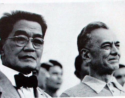 EMILIO AGUINALDO AND MANUEL QUEZON PHOTO ARCHIVE