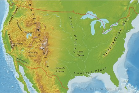 carpathian mountains map 2 us mountain ranges map