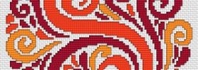 free decorative cross stitch pattern