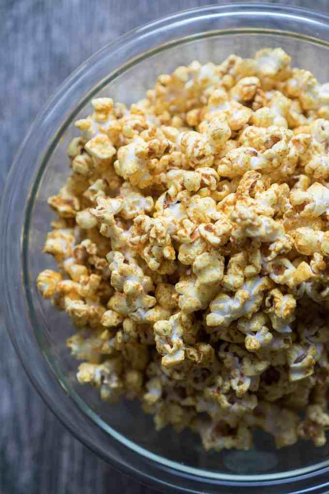 Curry Popcorn Recipe — Dishmaps