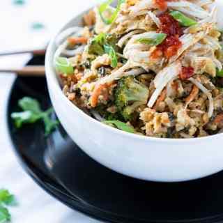Healthy Fried Rice Broccoli
