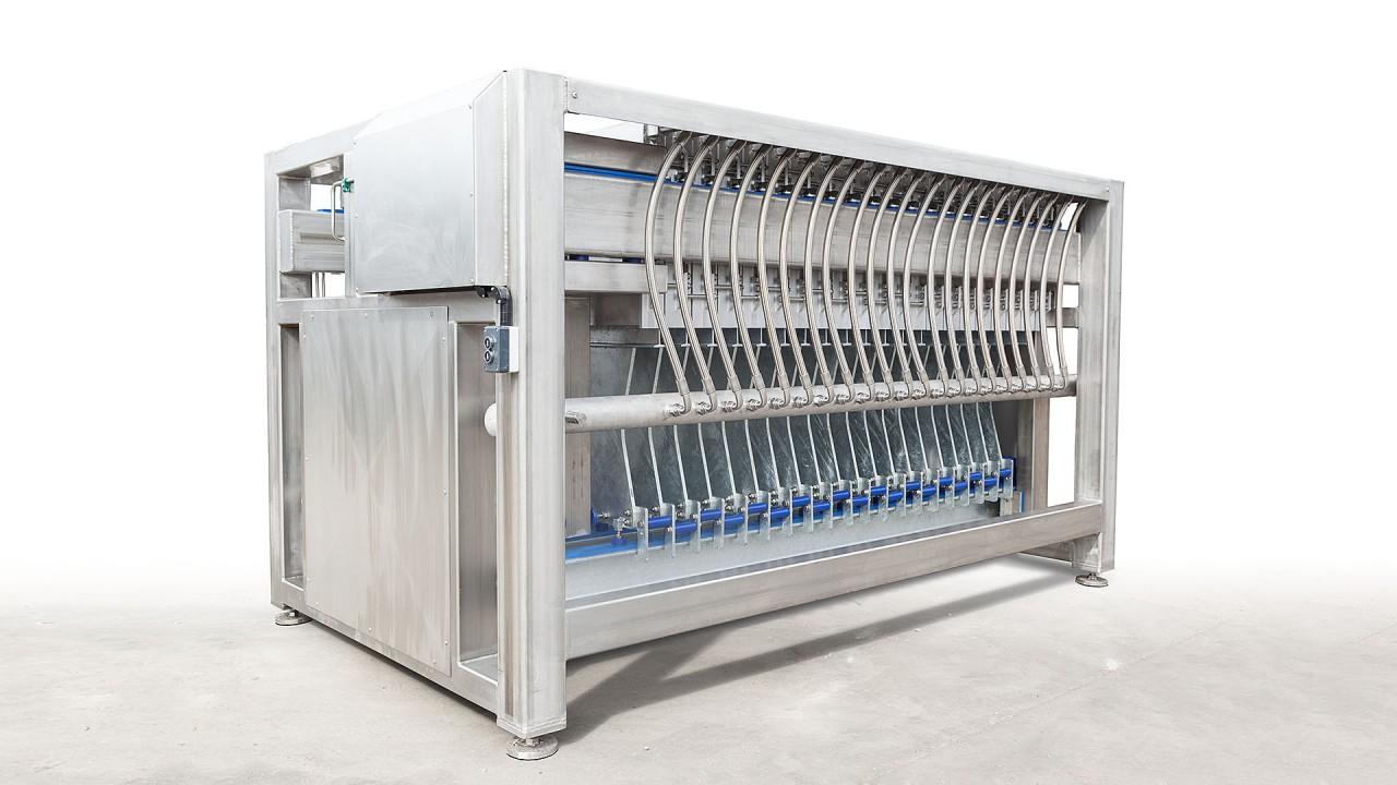 Vertical Flat Top Plate Freezer