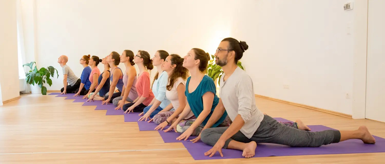 Yoga-Kurs im Freiraum-Institut