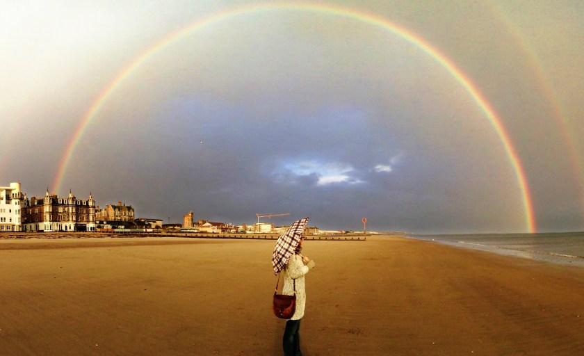 Edimbourg : Double rainbow à Portobello [+ vidéo]