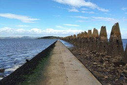 Escapade autour d'Edimbourg : Cramond Island et Lauriston Castle